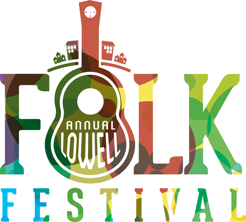 The Annual Lowell Folk Festival logo