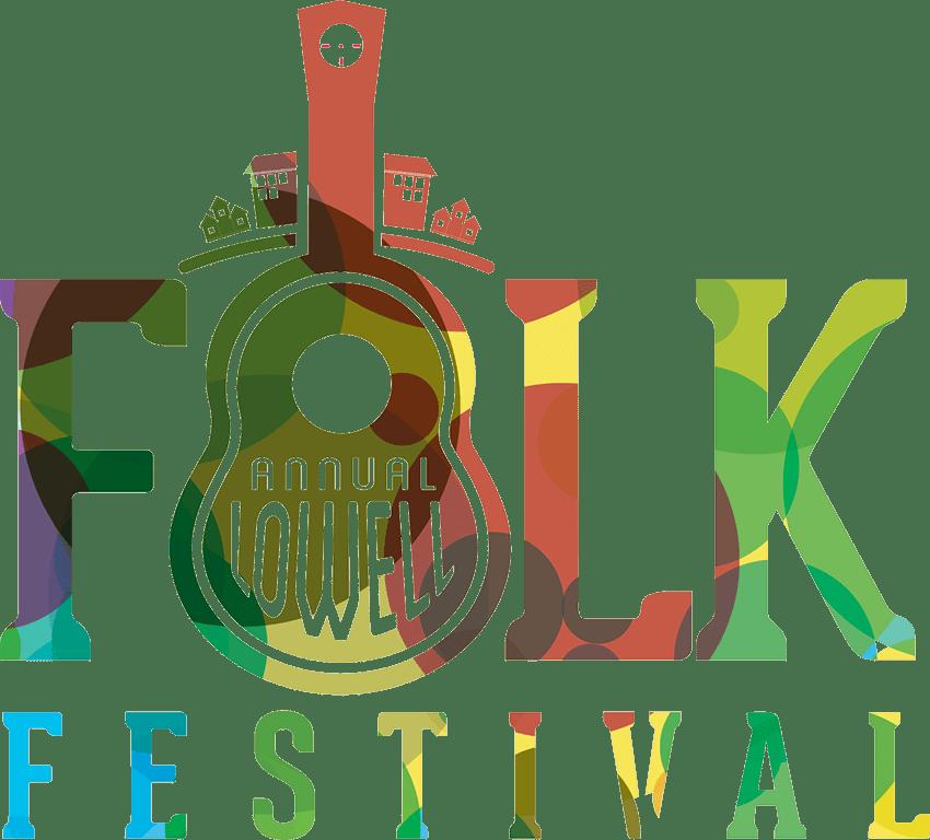 The Annual Lowell Folk Festival logo