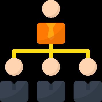 Illustration Unternehmensführung