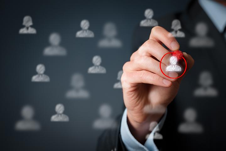Kunden markieren für Zielgruppen Werbeschaltung