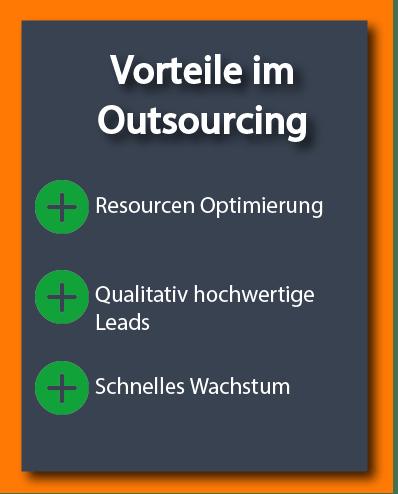 Vorteile im Outsourcing