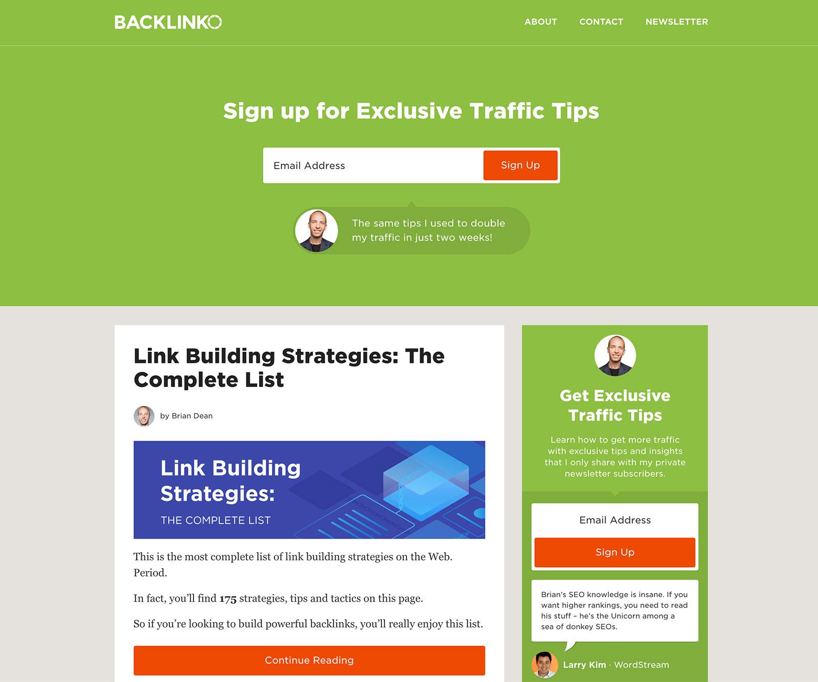 Backlinko Thumbnail