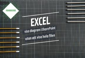 Hur du enkelt visar ett diagram från Excel i SharePoint utan att visa hela arket #snabbguide