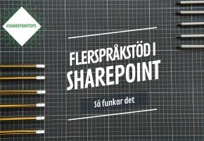 Varför ser inte kollegan dina ändringar av menyn i SharePoint?