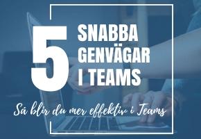 5 smarta tips i Teams, genvägar till en enklare vardag