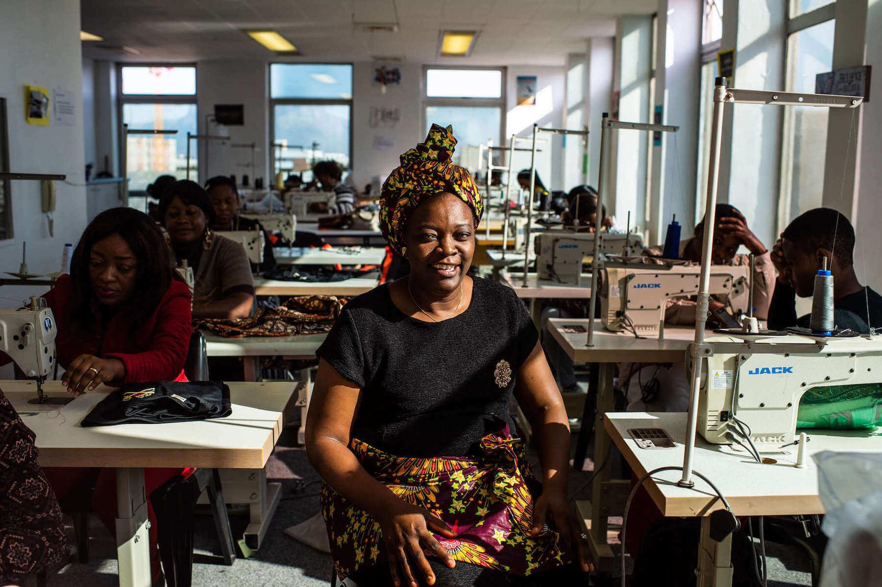 Kwesu Founder Patricia Mudiayi