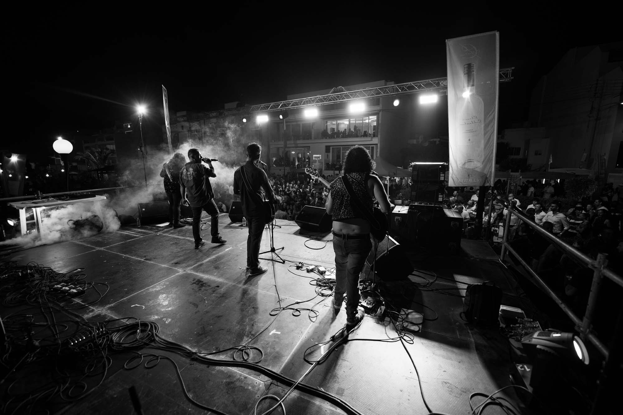 Concert photography in Nadur, Gozo