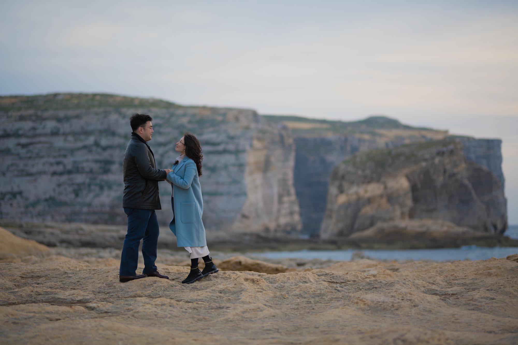Engagement Photography in Gozo
