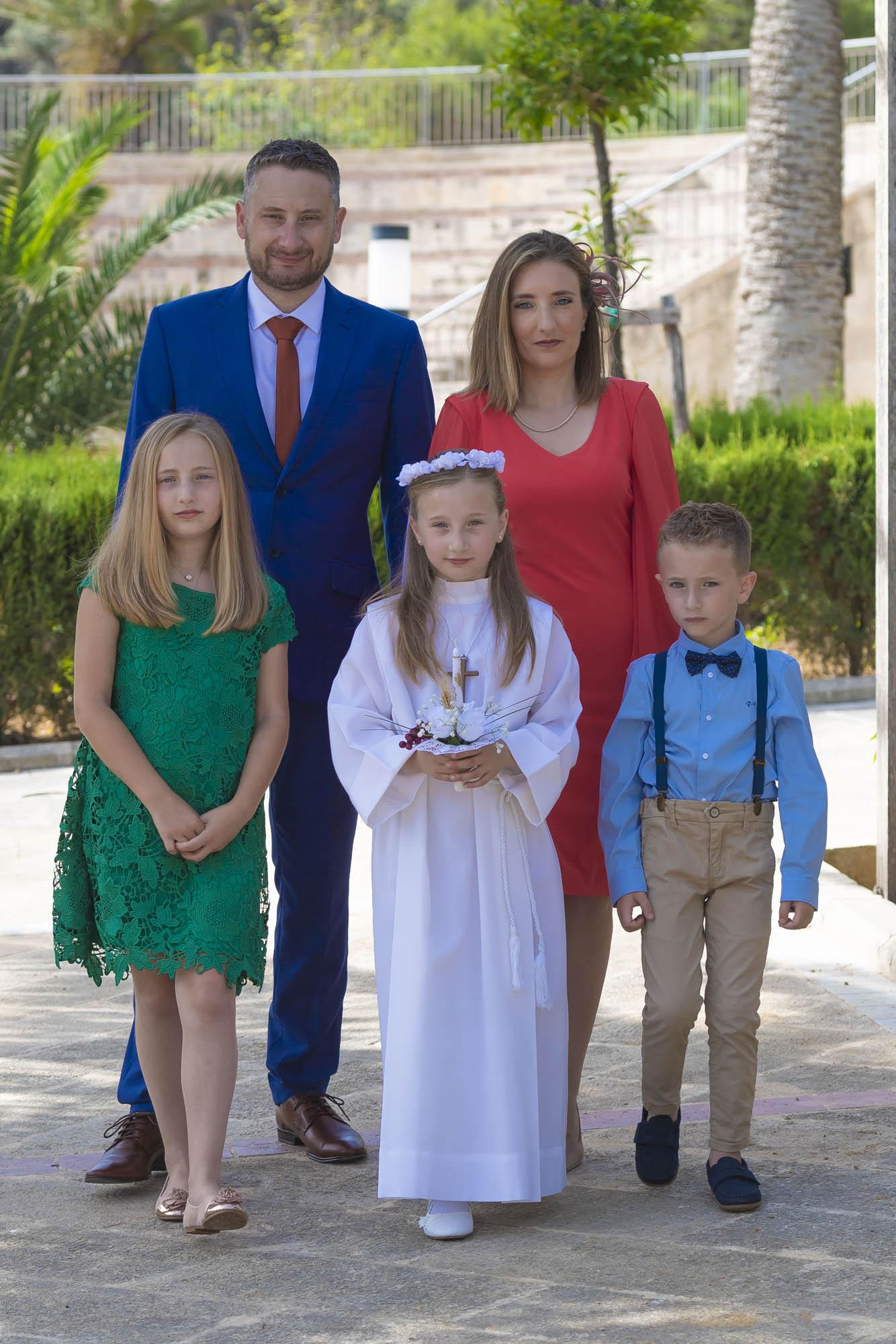 Photoshoot in Villa Rundle, Gozo