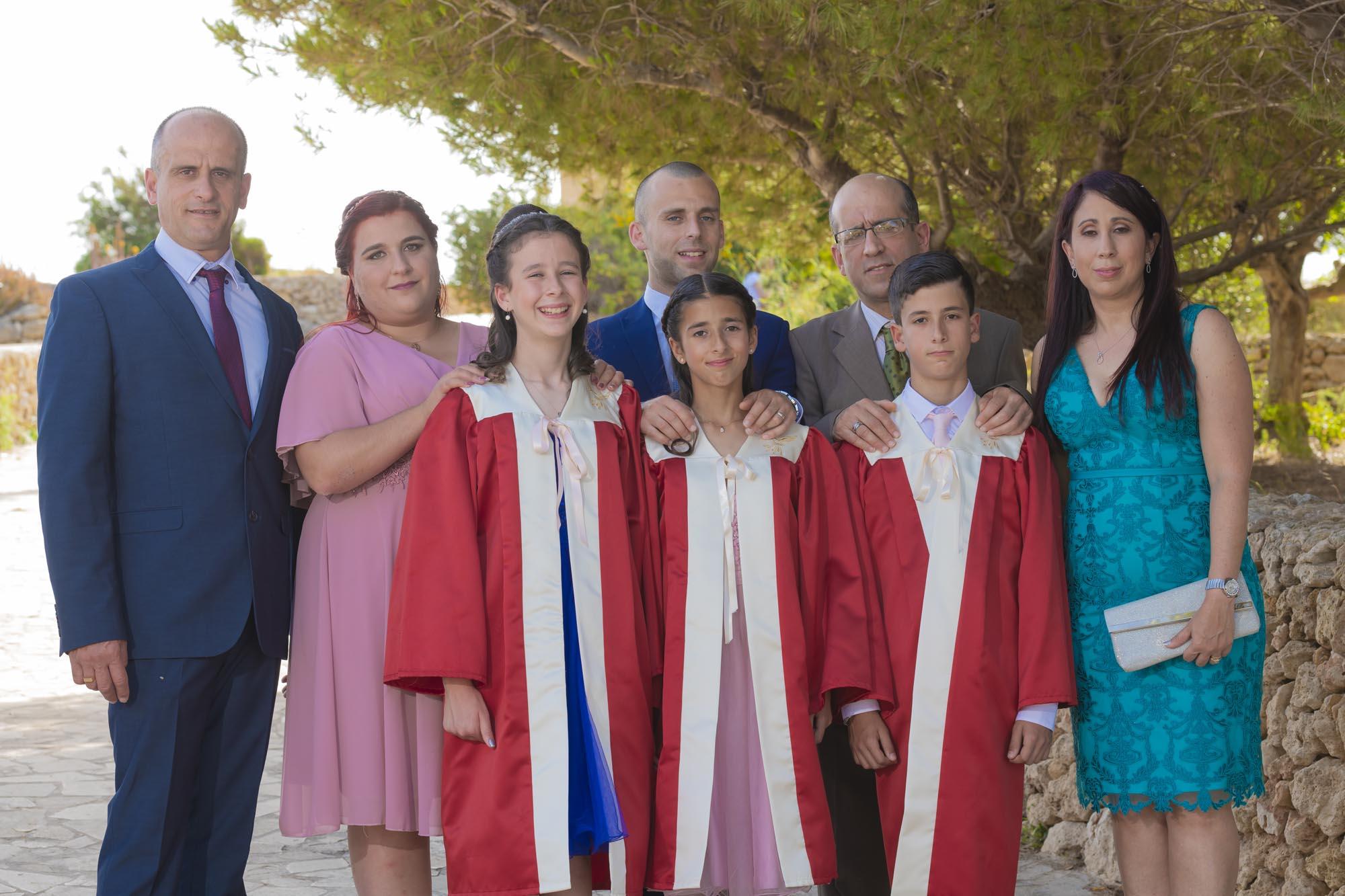 Confirmation Photoshoot in Nadur, Gozo
