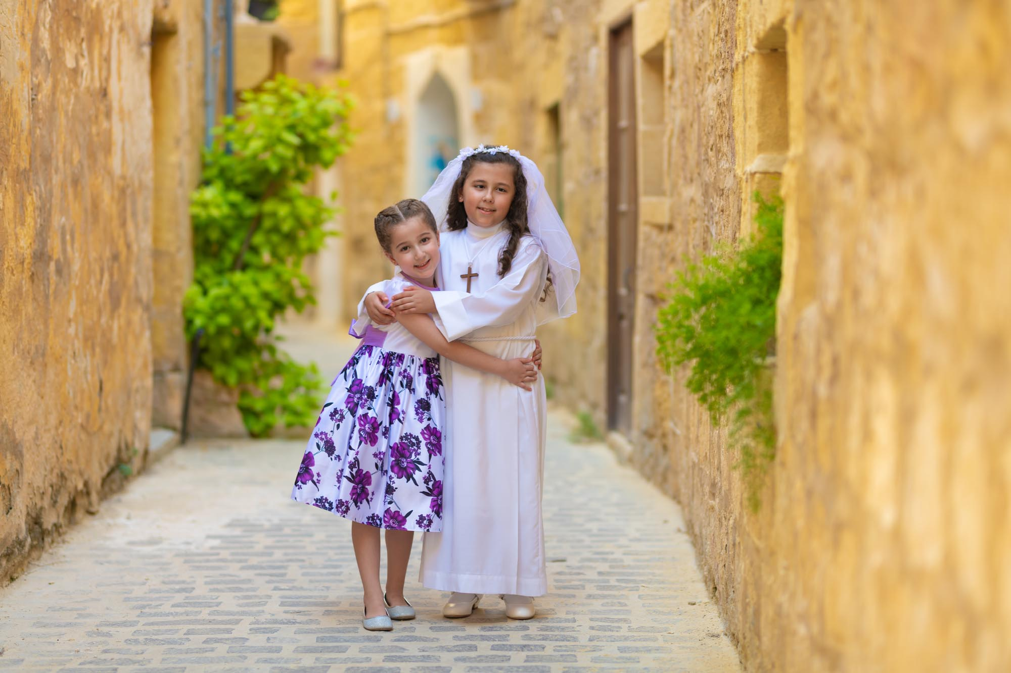 Communion Photoshoot in Mandragg, Gozo