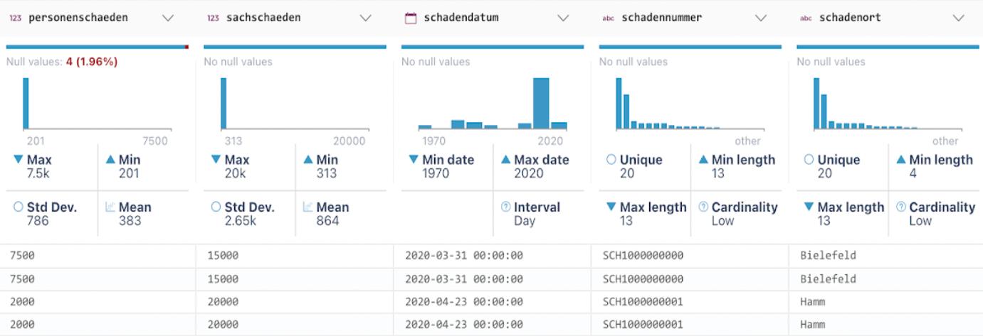 data profiling data quality data stats
