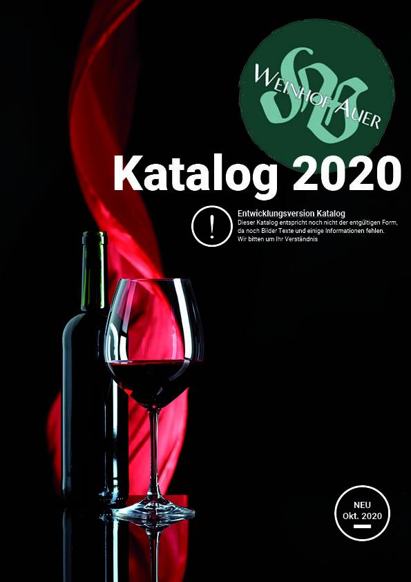 Titelseite des Katalogs