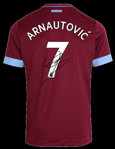 West Ham Signed t shirt