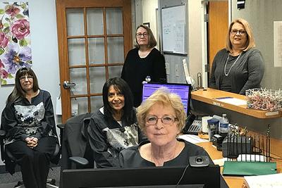 Front Office Staff, Illinois Sinus Center