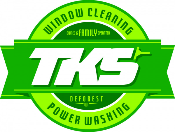 tks window cleaning and power washing deforest wi
