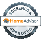 we're proud to be screened & approved on homeadvisor