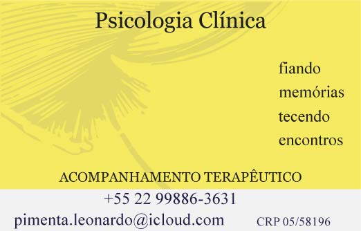 Leonardo Pimenta Psicólogo