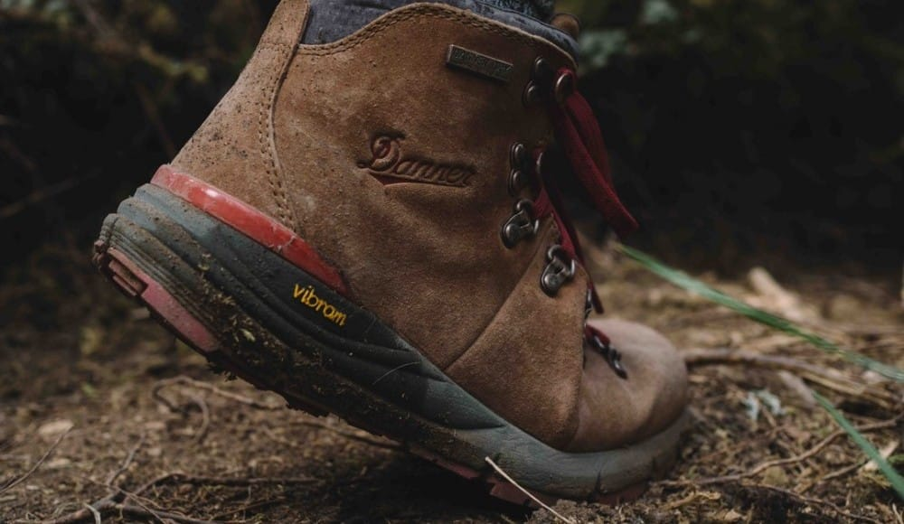 brown waterproof hiking boots are essential for trail walking
