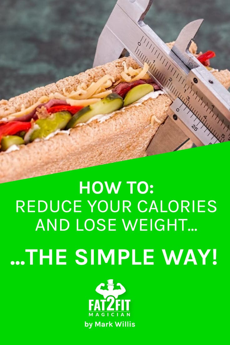 How to reduce calorie intake - Fat2Fit Magician
