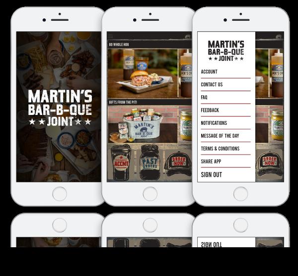 ToGoTechnologies Martin's BBQ App