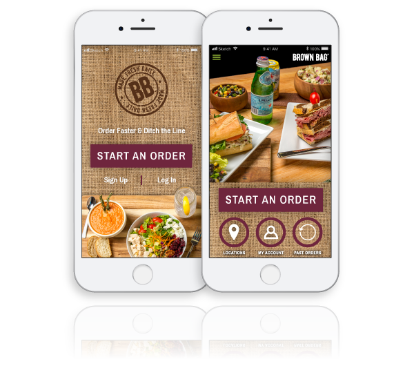 ToGoTechnologies Mobile App for Brown Bag Image