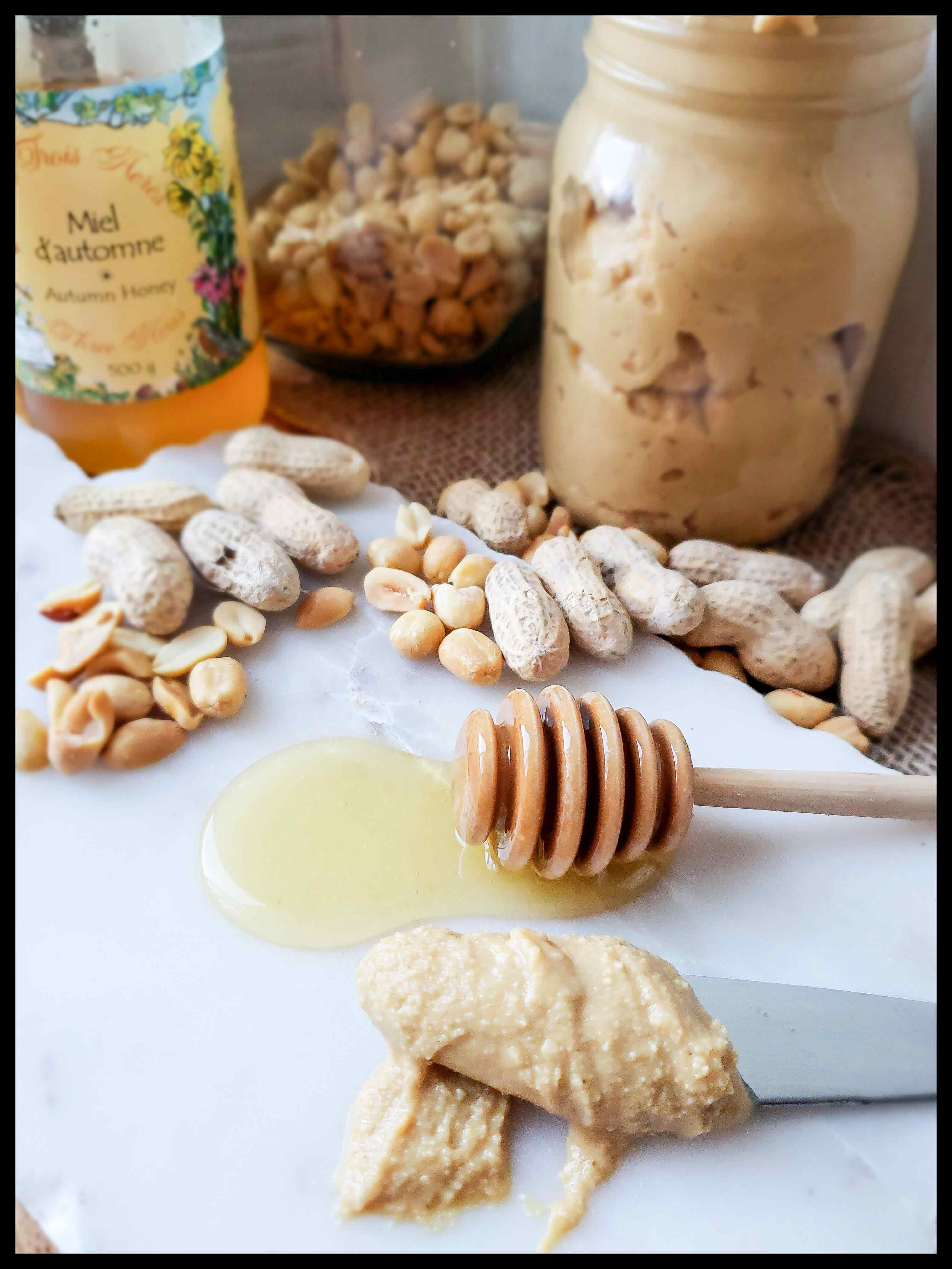 Peanuts and Autumn Honey