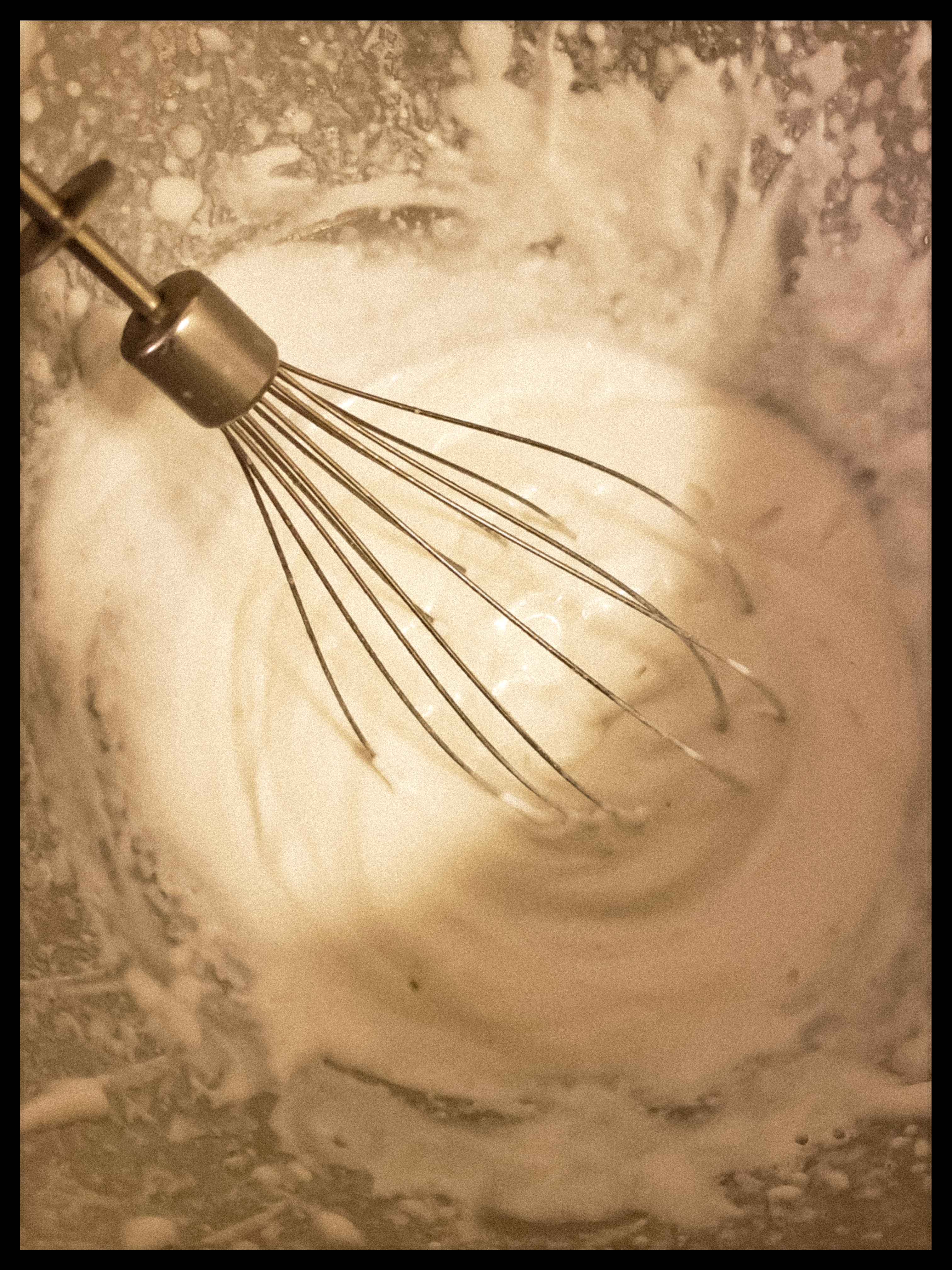 Whipped coconut milk