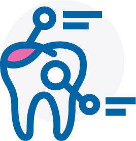 Icon showing tooth