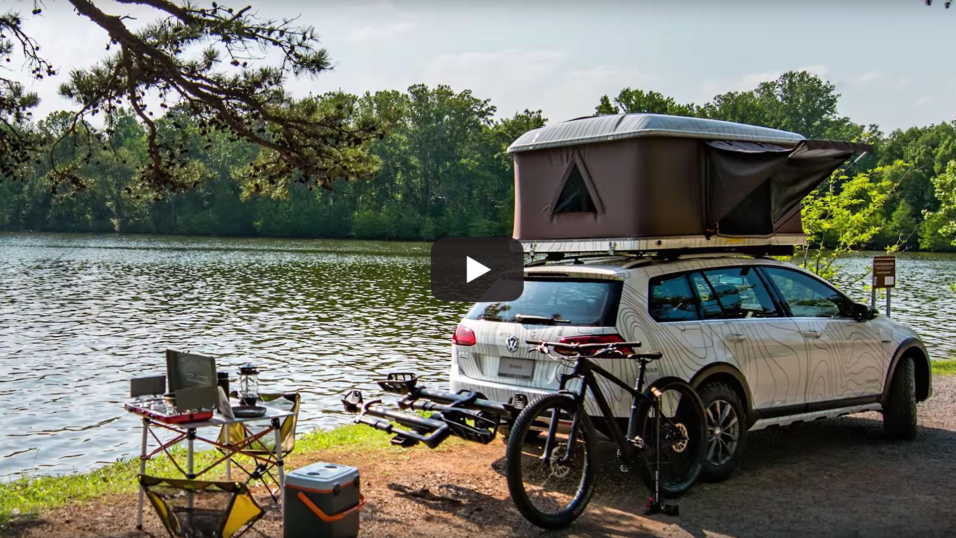 Volkswagen Golf Alltrack Country Concept Walkaround