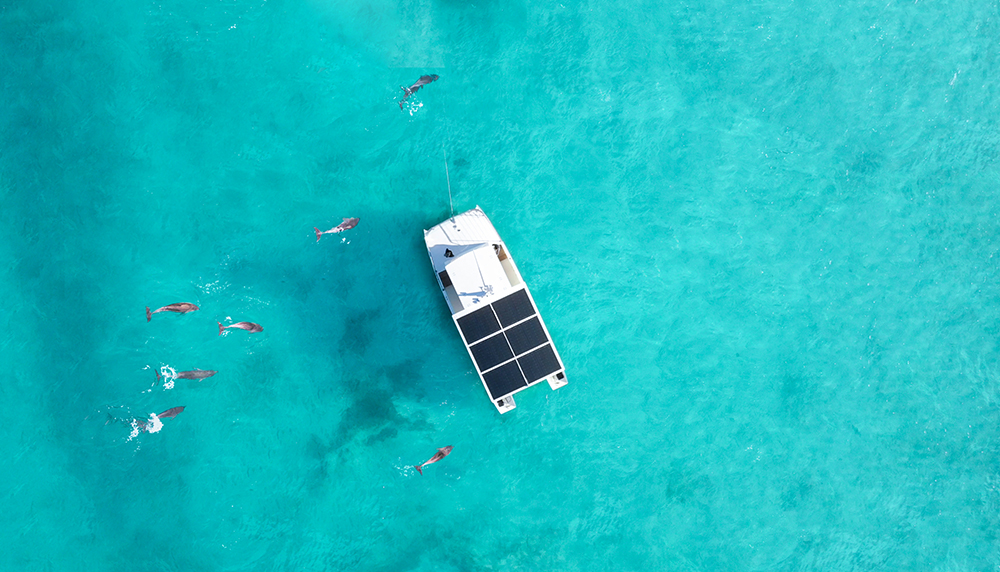 Squid Boat Harnesses the Power of the Sun Reducing Ocean Impact of Tours