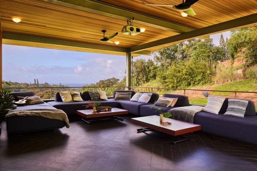 LifeEdited Maui, LifeEdited Maui Graham Hill, LifeEdited Hawaii, LifeEdited luxury house, Sunfare hawaii solar panels, transforming furniture luxury home, sustainable luxury homes, sustainable Hawaii homes, off-grid luxury home