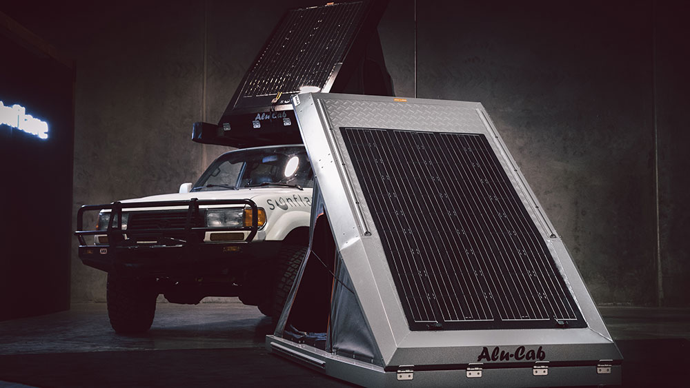 Upgrade Your Overlander With A Resilient Sunflare Flexible Solar Panel