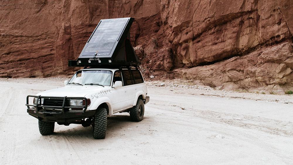 Sunflare Flexible Solar Panels