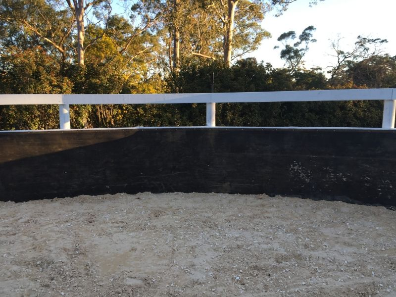 New GeoPro Footing round yard under construction