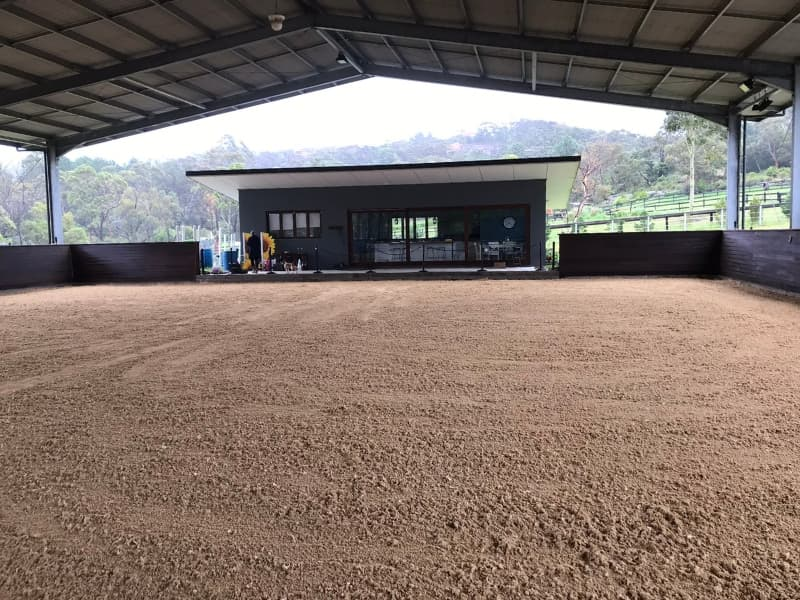 Indoor arena renovation with GeoPro Footing