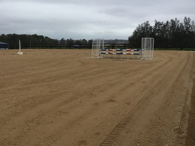 GeoPro Footing arena overhaul for professional showjumpers