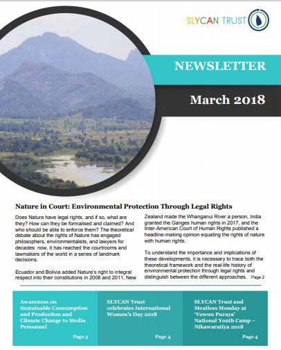 SLYCAN Newsletter March 2018