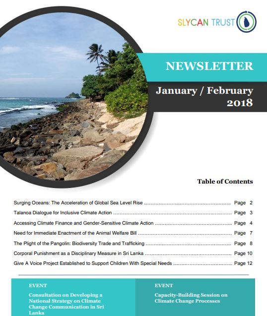 SLYCAN Newsletter Jan-Feb 2018