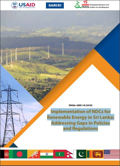 Implementation of NDCs for Renewable Energy in Sri Lanka: Addressing Gaps in Policies and Regulations