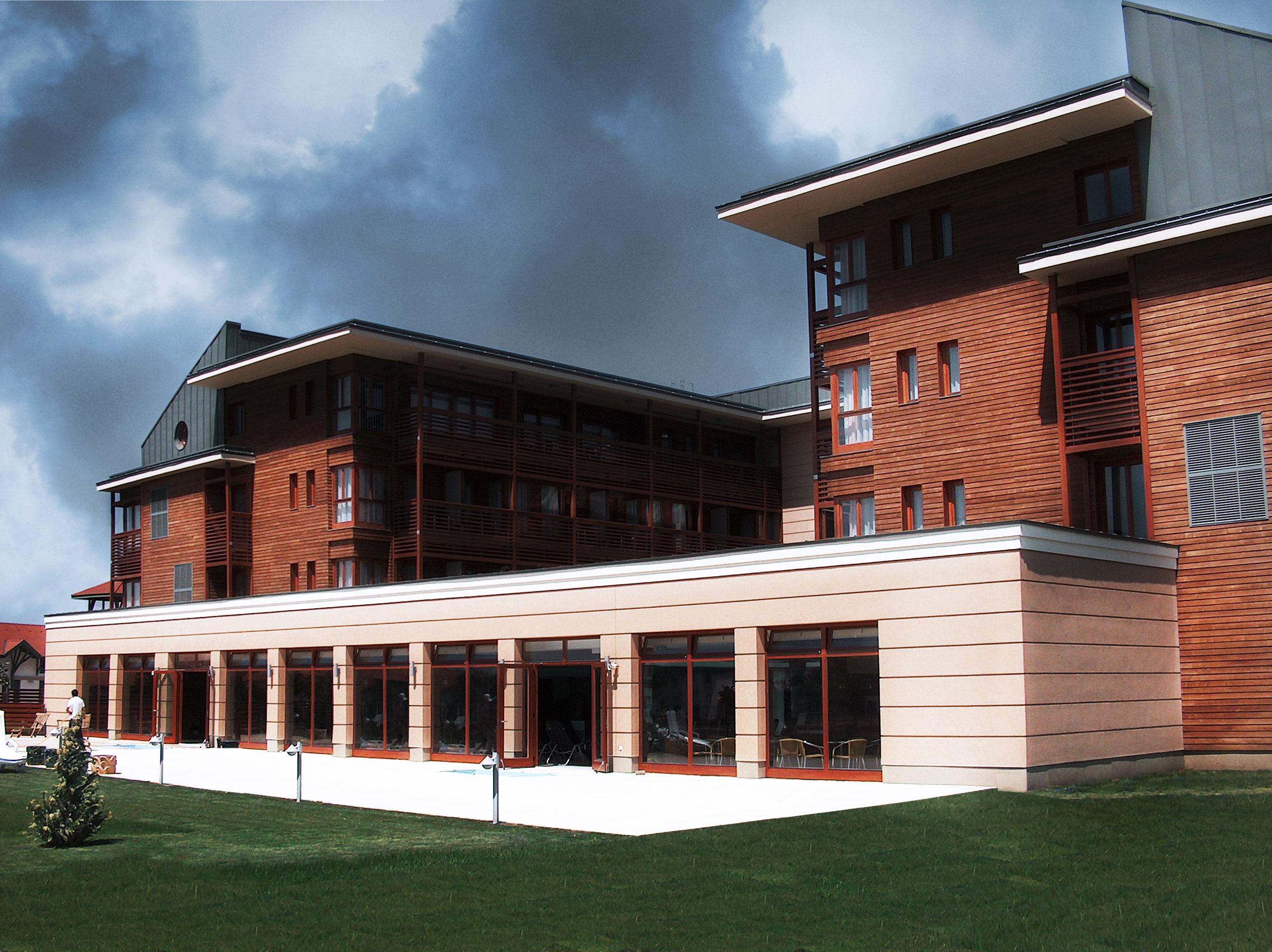 Hotel, szálloda építészmérnök