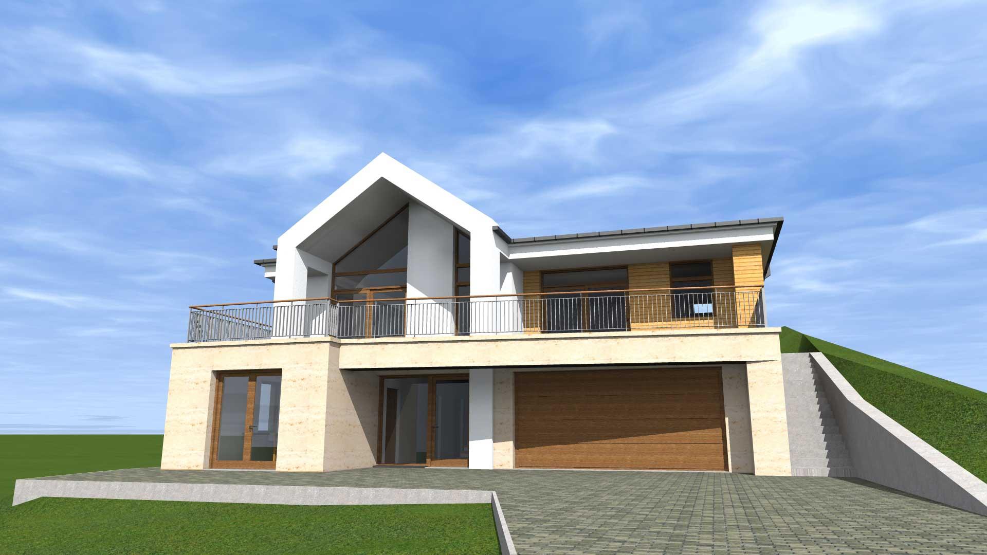 Luxus ingatlan tervezése Balaton