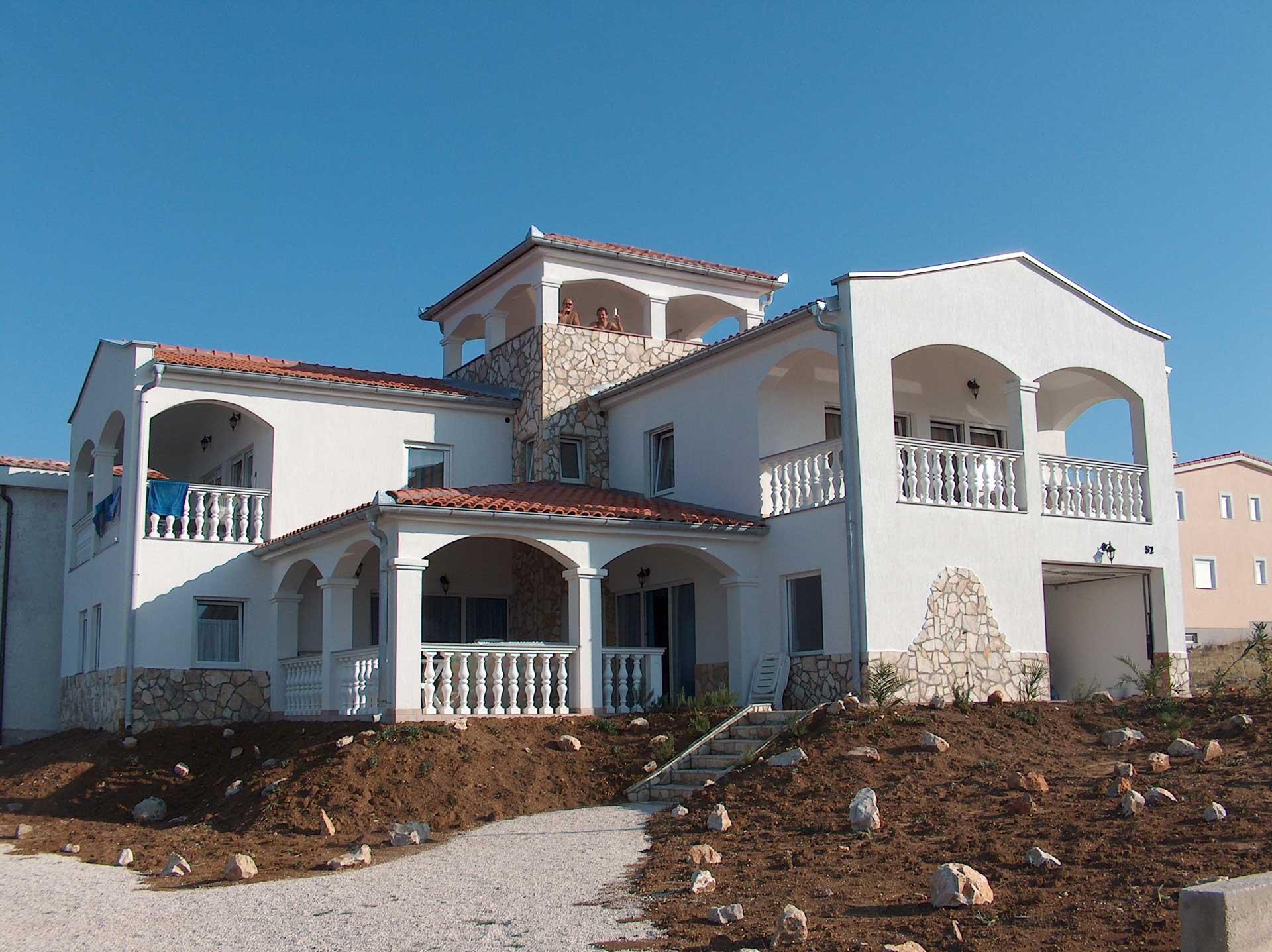 Építész Horvátország, Villa tervezése Horvátországban