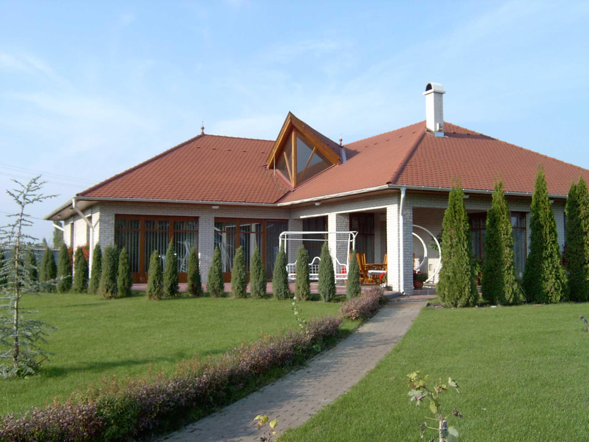 Kertes ház tervezése