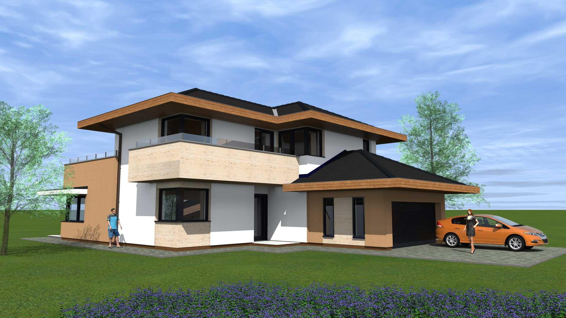 Mediterrán ház tervezése