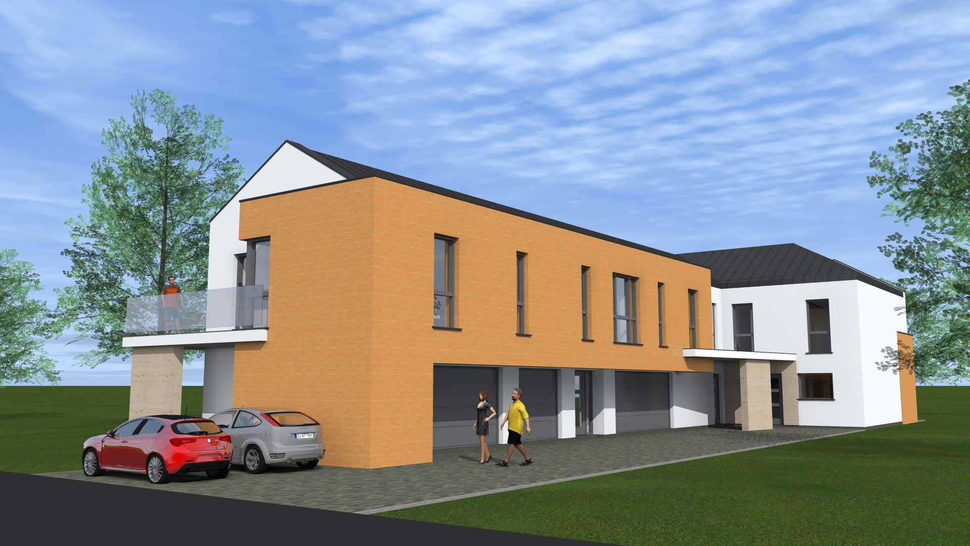 Építészmérnök lakótelep tervezésére