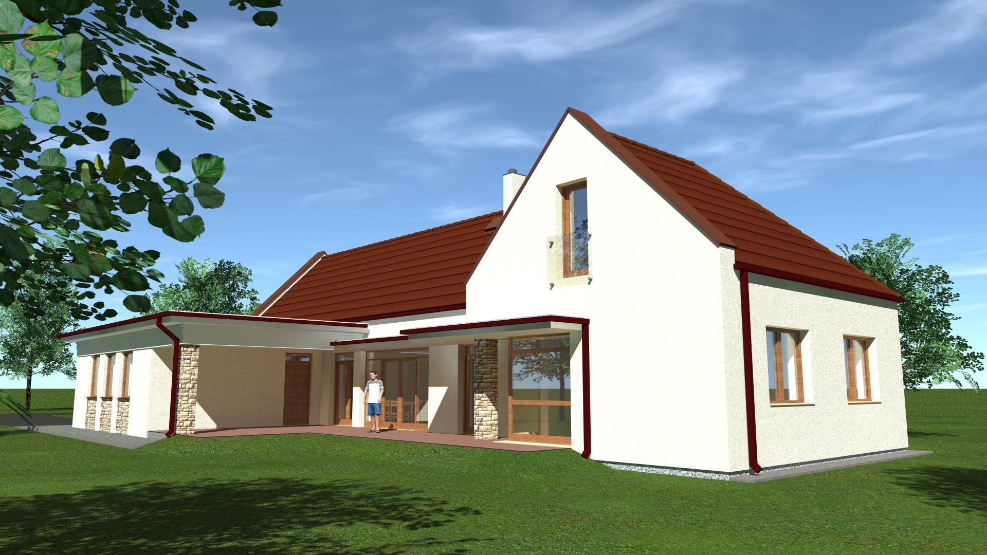 Kertes ház építészmérnök
