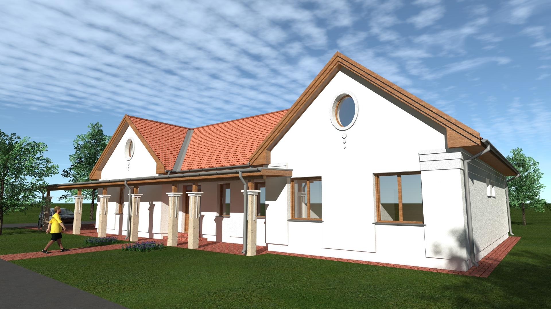 Családi ház tervezése Albertirsán