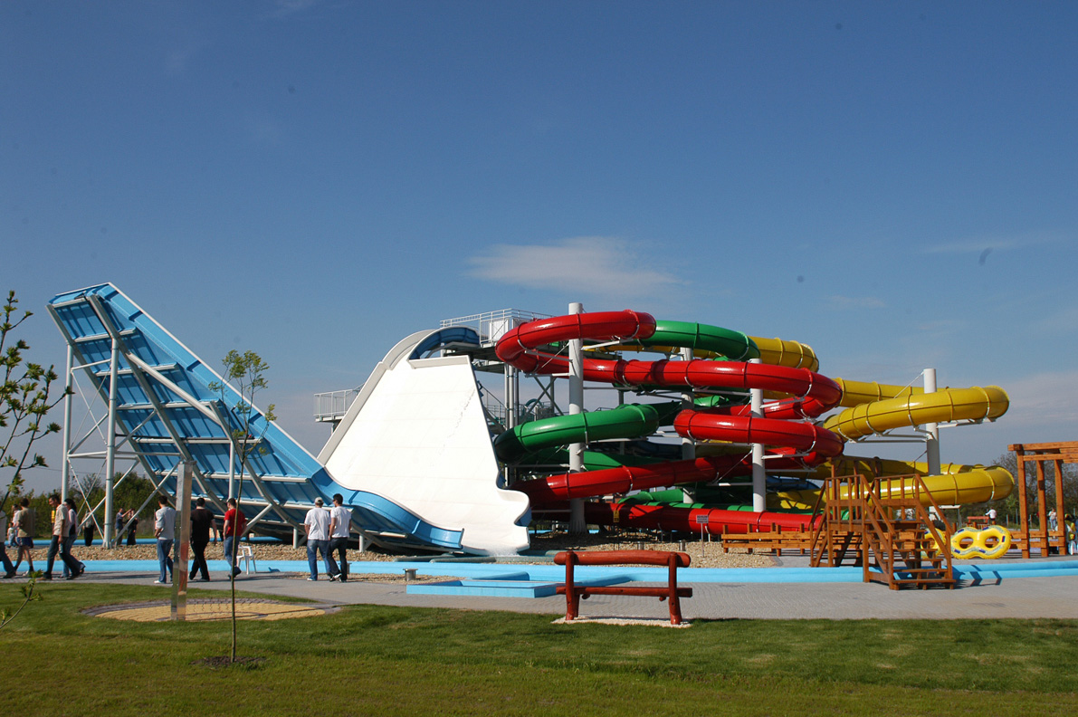 Aquapark tervezése Cegléd