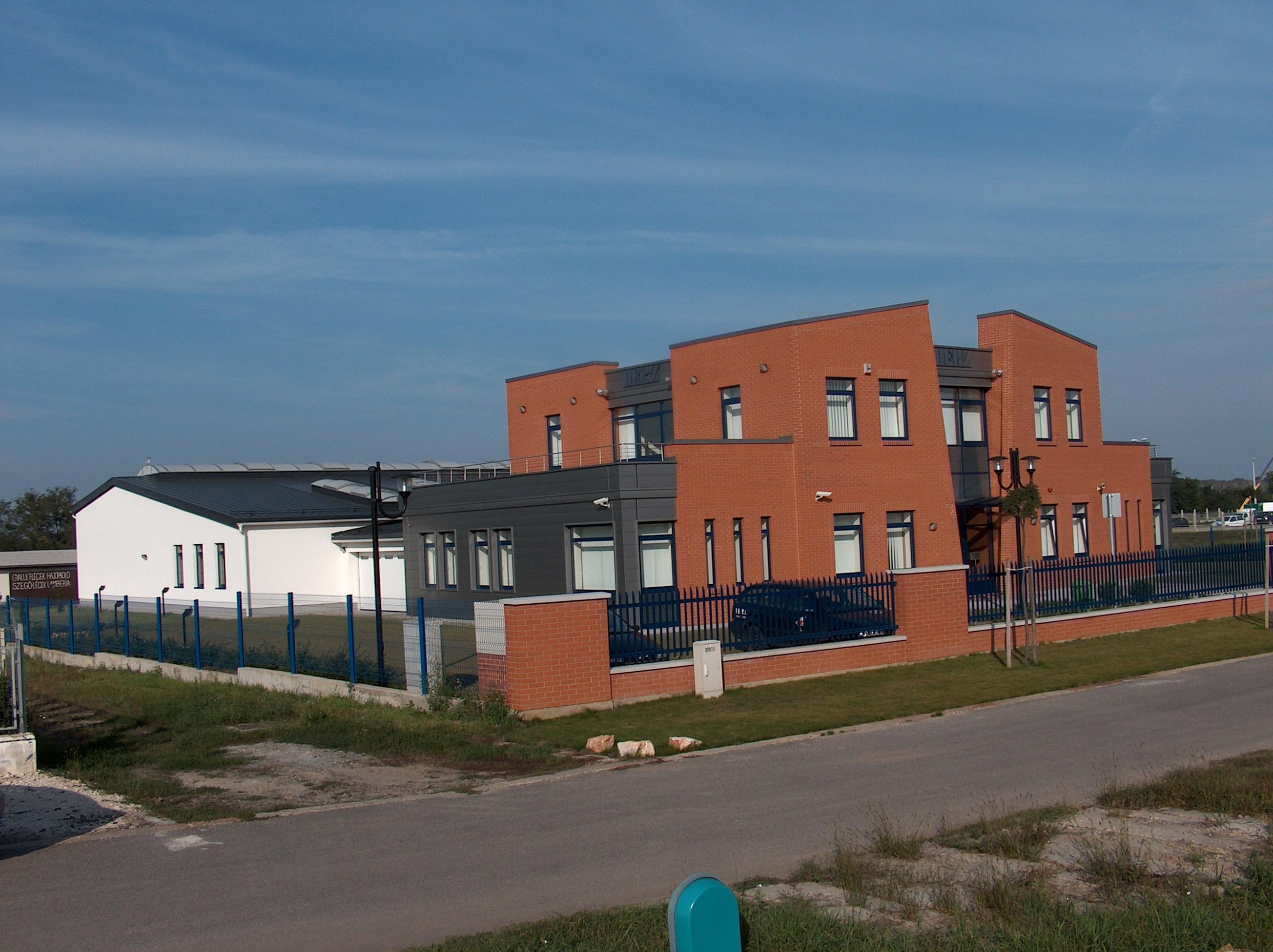 Irodaház építész